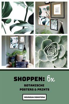 Ook met iets nieuws aan de muur kan je een ander sfeertje creëren! Voor deze blog ging ik op zoek naar de mooiste botanische posters & prints. Kijk je mee? #posters #botanischeposters #botanischeprints #illustraties #fotowand #fotomuur #wallart #planten #plants #kamerplanten #plantstyling Plants, Plant, Planting, Planets