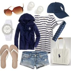 """""""Summer Semester Essentials 3"""" by qtpiekelso on Polyvore"""