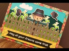 Christy Gets Crafty | Wizard of Oz card | Lawn Fawn | Copic Coloring