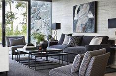 Home Decor Styles Decor Interior Design, Interior Design Living Room, Living Room Designs, Furniture Design, Living Room Lounge, Home Living Room, Living Room Inspiration, Home Decor Inspiration, Luxury Homes Interior