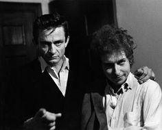 Bob Dylan and Johnny Cash, I love when to amazing musicians come together!