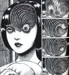 A cosmic horror game inspired by the work of manga artist Junji Ito Junji Ito, Art Manga, Manga Artist, Manga Drawing, Harry Clarke, Arte Horror, Horror Art, Wie Zeichnet Man Manga, Japanese Horror