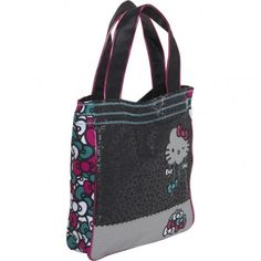 Cute Multi Color Hello Kitty Tote for Girls