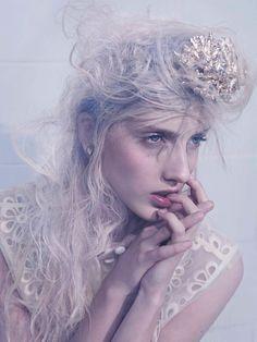Iris Egbers Plays Captive Siren for Tush Magazine, Shot by Philip Riches