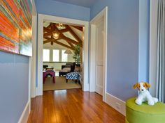 So smart! Outlets in the baseboards are almost hidden from sight! HGTV Dream Home 2013: Bunk Niche Pictures : Dreamhome : HGTV