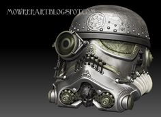 STAR WARS Steampunk Helmets - News - GeekTyrant