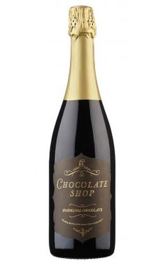 Chocolate Shop Wine - Sparkling Chocolate Red Wine - Tastes like a fizzy tootsie roll!!! Delicious!
