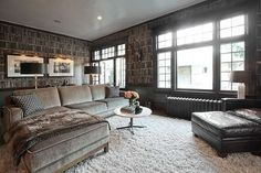 <p>Sure, the sectional is the stuff of family rooms circa 1987, but it is back in a big way, and why... - Houzz.com
