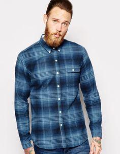 Levi's California Shirt Button Down Plaid Twill Check