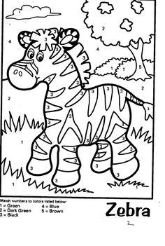 Schede ed attività didattiche del Maestro Fabio per la scuola primaria. Giochiecolori.it: DISEGNI DA COLORARE: COLOUR BY NUMBERS (Colora seguendo i numeri, attivita' in inglese) ANIMALS (animali) Jungle Coloring Pages, Mickey Coloring Pages, Animal Coloring Pages, Colouring Pages, Printable Coloring Pages, Animal Activities For Kids, Preschool Activities, Color By Number Printable, Popsicle Stick Crafts For Kids