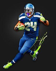 Seattle Seahawks - Marshawn Lynch