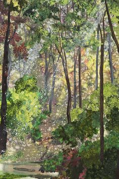 Susan McBride Gilgen, When Within the Shady Woodland Detail, 2002