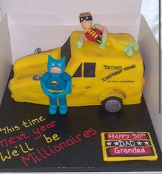 Only fools and horses cake Only Fools And Horses, Horse Cake, Cakes For Men, The Fool, Cake Decorating, Dads, Cake Stuff, 30th, How To Make