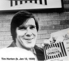 Man who changed the coffee business and established real Canadiana, #TimHorton, born today in 1930.