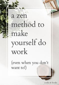 Struggling to get your writing done? Does procrastination hit you hard every time you sit down to write? Here's the best advice I've ever seen for making yourself work, even when you really, really don't want to! (Via Zen Habits, Leo Babauta) Work Life Balance, Brain Tricks, Life Hacks, How To Stop Procrastinating, Time Management Tips, Thats The Way, You Working, Self Development, Personal Development