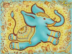 Elephant tattoo idea #elephant #tattoo I wouldn't have the background though...that would hurt.lol