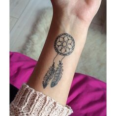 Tattoo - emotions paints the body because the soul is not enough to say what you would want. Dream Tattoos, Mom Tattoos, Small Tattoos, Tatoos, Dream Catcher Wrist Tattoo, Dope Tattoos For Women, Simplistic Tattoos, Star Wars Tattoo, Jewelry Tattoo