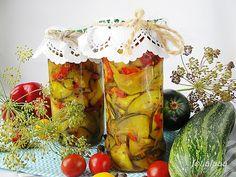 Ala piecze i gotuje: Sałatka z cukini i papryki