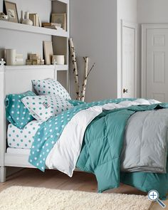 Dot to Dot Flannel Bedding