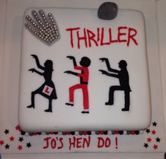 Thriller themed Hen Party Cake