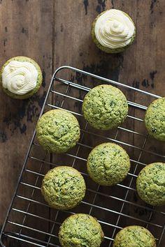 Lemon and Stinging Nettle Cupcakes with Lavender Buttercream Recipe | Veggie Desserts Blog