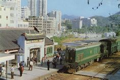 Tai Po Market Station (Kowloon Canton Railway) History Of Hong Kong, China Hong Kong, World Cities, Old Buildings, Travel And Tourism, Public Transport, Light Rail, Pictures, Photos