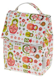 matryoshka lunch bag