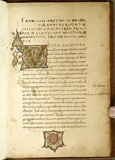 Epistolae, MS M.412. Fol. 001r - Images from Medieval and Renaissance Manuscripts - The Morgan Library & Museum