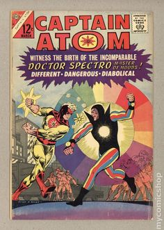from $19.5 - Captain Atom (1965 Charlton) #79 Vg 4.5