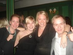 We work together at Uppsala university and really like to party :)