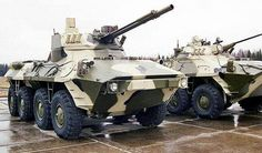 BTR90 with BMP3 turrets