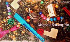 Smiling like Sunshine: Magnetic Sensory Bin