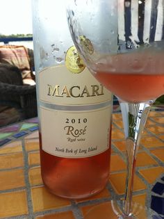 delicious Long Island summer wine-not sweet