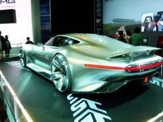 LA AUTO SHOW 2014 - Mercedes Benz AMG Concept Car  - this car is so BAD AZZ!!!