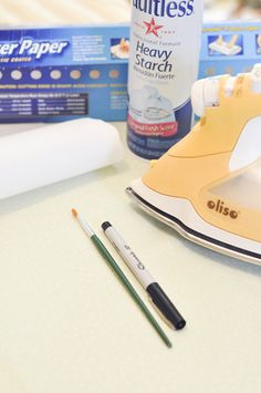 Interesting post on using spray starch or other stabilizers while sewing. Especially brilliant to use it on slippery lightweight fabrics to make cutting and sewing easier!