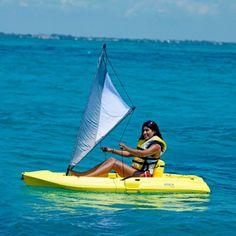 Lifetime Kayak Sail Kit Accessory, Gray/White Image 2 of 3