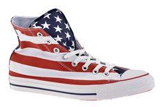 Converse All Star CT Hi Flag Sportive alte Bianco/Rosso/Blue