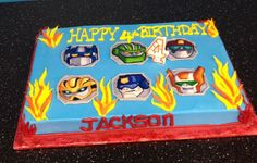 rescue bots birthday cake - Google Search