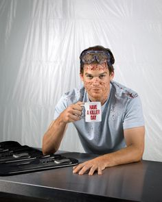 42 best dexter images on pinterest dexter morgan michael c get this special offer dexter tv series 2006 8 inch x 10 inch photograph michael c hall blue shirt blood splattered have a killer day coffee cup kn fandeluxe Choice Image
