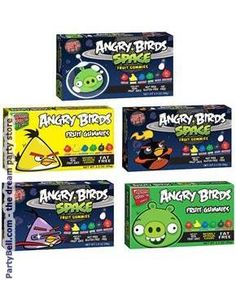 3.5 oz. Angry Birds Gummies Assorted