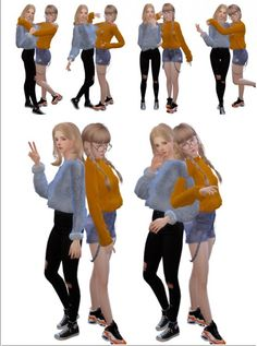 Rinvalee: Cuple poses 8 • Sims 4 Downloads