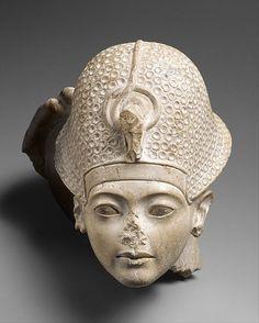 Head of Tutankhamun Period: New Kingdom, Amarna Period Dynasty: Dynasty 18 Reign: reign of Tutankhamun Date: ca. 1336–1327 B.C.