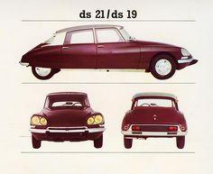 Citroen's UK Catalogue 1968 : DS 19 &21
