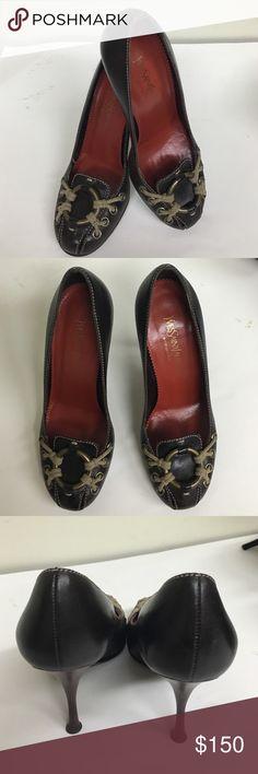 ♦️YSL SHOES / HEELS♦️ Beautiful pair of pre ❤️ heel in excellent condition Yves Saint Laurent Shoes Heels