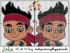 Jake - Jake and the Never Land Pirates pattern by Dinha Ponto Cruz