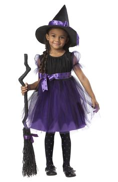 Charmed Witch Toddler Costume (Purple) for Halloween - $22.95