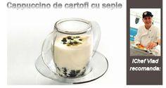 Cappuccino de cartofi cu sepie