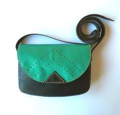 Bolsos de cuero - Bolso de cuero - hecho a mano por Lanhe en DaWanda