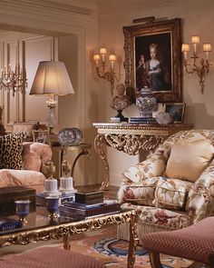 William R. Eubanks, Timeless Interiors: Delightful Liaisons - Eubanks combines 18th century France with a fresh, updated palette for drop-dead-gorgeous results
