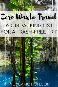 Everything zero waste travel! In this post I get into what zero waste is and how to apply it to travel. Read more for a zero waste travel packing list, complete with lots of items for sustainable, eco-friendly, low-impact travel Packing List For Travel, Travel Tips, Travel Hacks, Travel Destinations, Packing Tips, Travel Guides, Vacation Packing, Travel Advice, Vietnam